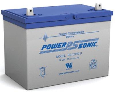 Ps-12750 12 Volt 75 Amph Sla Battery 12V