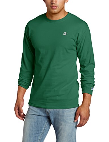 Champion Men's Jersey Long Sleeve T-Shirt, Gator Green, XX-Large