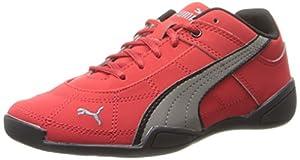 PUMA Tune Cat NBK 2 JR Sneaker (Little Kid/Big Kid),High Risk Red/Steel Gray/Black,12 M US Little Kid