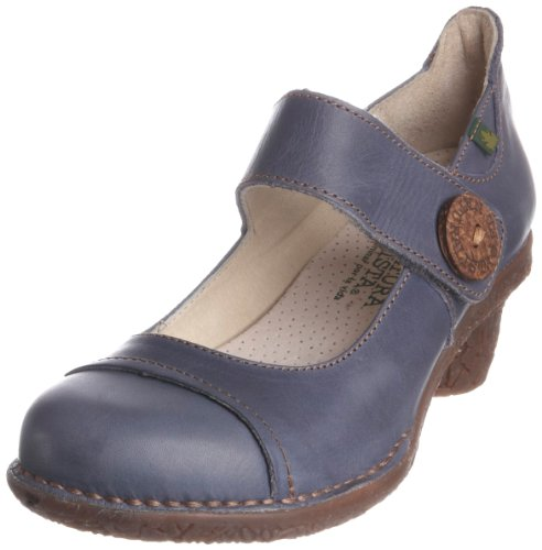 El Naturalista Women's N740 Mary Jane Heel Vaquero 8 UK