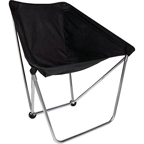 ALITE(エーライト) BISON CHAIR (バイソンチェア) 折りたたみ式キャンプチェア (Black) [並行輸入品]