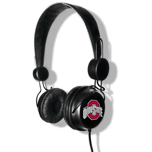 Ncaa Ohio State Buckeyes Logo Headphones
