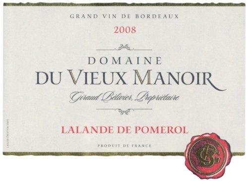 2008 Domaine Du Vieux Manoir Bordeaux 750 Ml