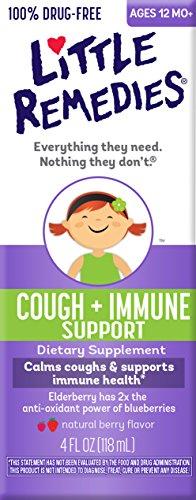 Little Remedies Cough Plus Immune Support, 4 Fluid Ounce