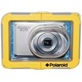 Polaroid Dive-Rated Waterproof Camera Housing For The Samsung ST30, ST65, ST76, ST80, ST90, ST93, ST95, ST100,...