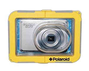Polaroid Dive-Rated Waterproof Camera Housing For The Sony Cybershot DSC- WX150, WX300, WX200, WX350, WX80, WX70, WX50, WX30, WX10, WX9, WX5, W800, W810, W830, W710, W730, W690, W650, W620, W610, W570, W560, W550, W530, W510, W380, W350, W330, W320, W310, S2100, S2000 Digital Cameras