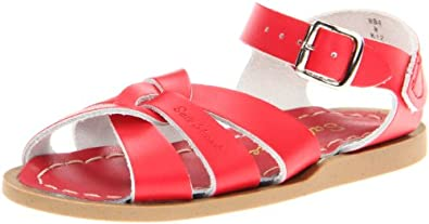 Salt-Water By Hoy Shoe The Original Sandal Sandal,Red,3