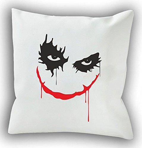 Why So Serious? - Joker - Batman 40 x 40 cm Cuscino decorativo - Cuscino - cuscino per divano