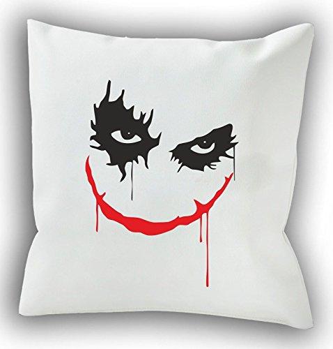 Why So Serious?-Joker-Batman 40x 40cm Cuscino decorativo-Cuscino-cuscino per divano