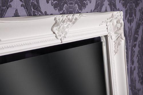 spiegel wandspiegel weiss barock felicia 180 x 80 cm. Black Bedroom Furniture Sets. Home Design Ideas