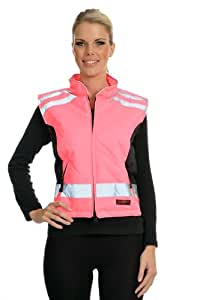.com: Equisafety Ladies' Reflective Gilet Vest: Sports & Outdoors