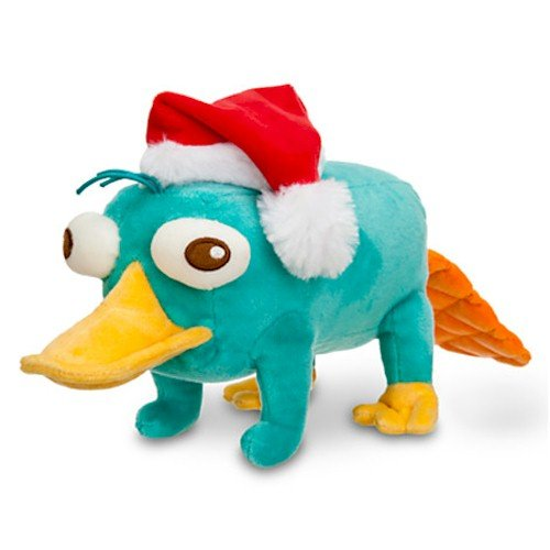 Disney Perry Mini Bean Bag Plush - Holiday - 8''