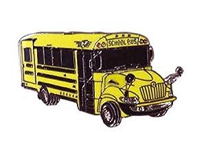 International Be School Bus Lapel Pin