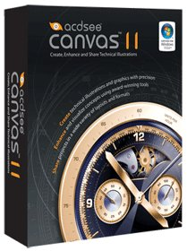 Acad Canvas 11 Win Technical Illustration Tool