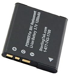 STK's Sony NP-BN1 NPBN1 Battery - 1200 mAH for Sony Cyber-shot CyberShot DSC-W330, TX5, DSC-W350, TX9, W350, DSC-W310, DSC-TX5, DSC-W330, TX7, W330, WX5, DSC-TX7, DSC-TX9, W310, DSC-WX5, DSC-W320, DSC-W380, W320, W380, DSC-W390, W390, DSC-W360, W360, DSC-