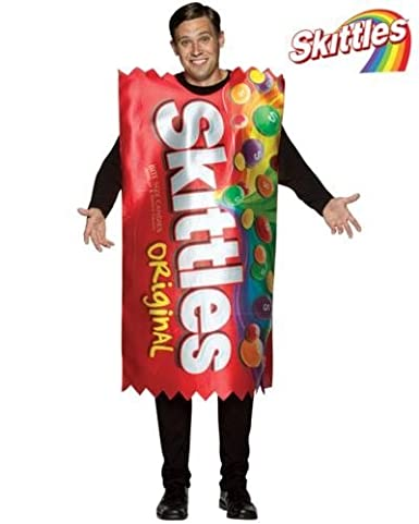 Skittles Candy Costume