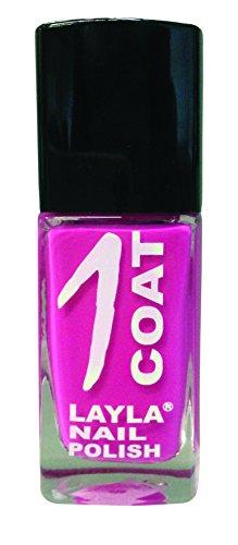 Layla 1262R23-009 1 Coat Smalto per Unghie, Tonalità 09 Break Pink