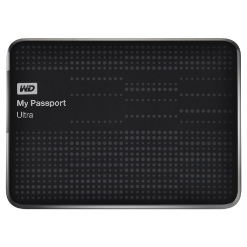 WD My Passport Ultra 1TB Portable External USB 3.0 Hard Drive with Auto Backup – Black