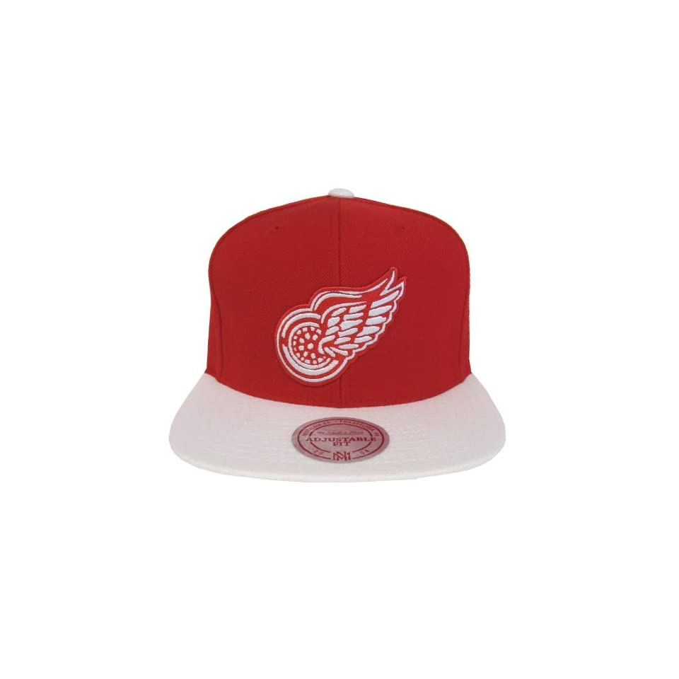 Detroit Red Wings Mitchell   Ness Logo Snapback Cap Hat on PopScreen 4f8e47e02360