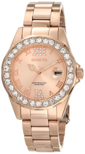 Invicta Women's 15253 Pro Diver Rose Gold Ion-Plated