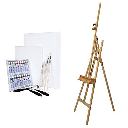 artina-ensemble-pour-peinture-chevalet-barcelona-en-bois-de-hetre-set-de-28-pieces-pour-peinture-a-l
