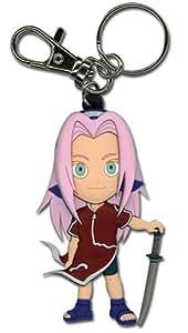 Naruto Sakura PVC Chibi Schlüsselanhänger