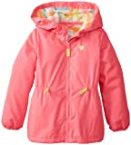 Carters Girls 2-6X Solid Anorak with Fleece Liner