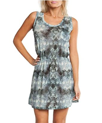 G2 Chic Women's Blue Sleeveless Ethnic Print Dress(DRS-CAS,BLU-S)