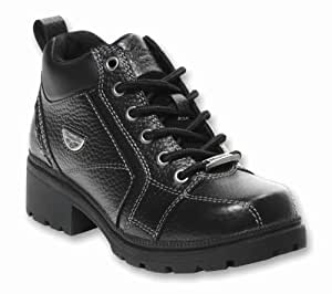 Milwaukee Motorcycle Clothing Company Womens Deceiver Boots (Black, Size 9.5B)