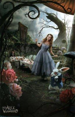 Alice in Wonderland Movie (Alice, Triptych 1) Poster Print - 22x34 Poster Print, 22x34 Movie Poster Print, 22x34