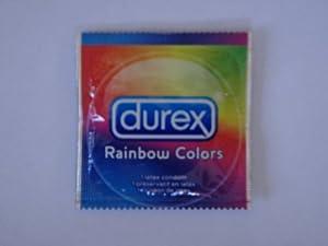 Durex RAINBOW COLORS Condom - 12 condoms