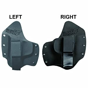 Concealed Carry Holsters made of Kydex and leather combination for 100 plus different pistol models. Left and Right