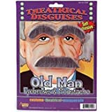 Old Man Eyebrows and Moustache Set