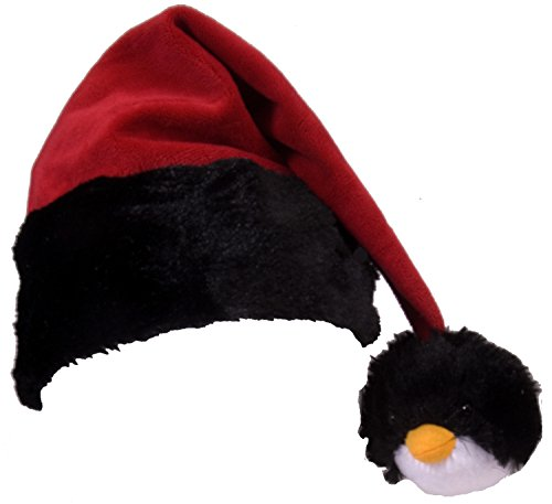 Wild Republic Penguin Tassel Santa Hat