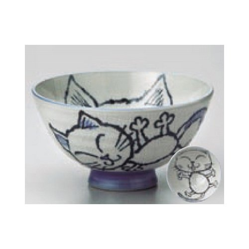 rice bowl kbu480-17-232 [5 x 2.56 inch] Japanese tabletop kitchen dish Cat Ohira [12.7 x 6.5cm] inn restaurant tableware restaurant business for quit or child cup kbu480-17-232
