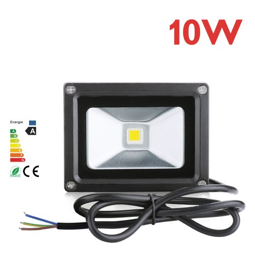 10 Watt Led Waterpoof Outdoor Security Floodlight 12V.Warm White.