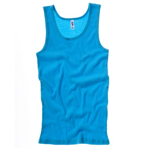 Bella + Canvas Womens/Ladies Rib Tank Vest Top (14 US) (Turquoise)