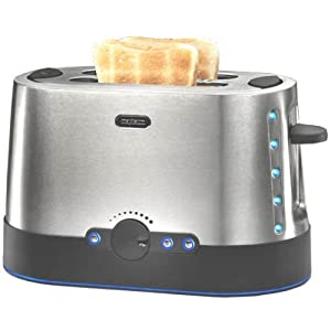 Team-Kalorik-Group TKG TO 1008 PWD Design-Edelstahltoaster Toaster