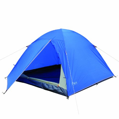 Highlander 4 Man Glenderry Tent – Blue