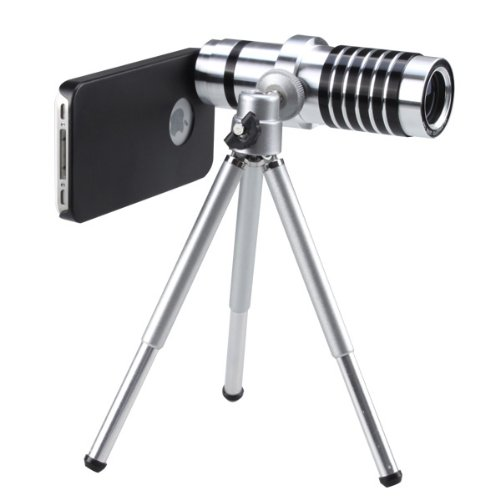 Agptek® Special 14X Optical Zoom Telescope Camera Lens With Tripod For Iphone 4 4S