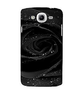 PrintVisa Rose Dew Design 3D Hard Polycarbonate Designer Back Case Cover for Samsung Galaxy Mega 5.8