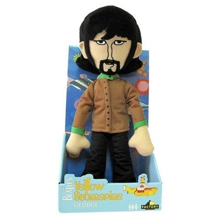 Yellow Submarine Band Member Shakems - Deluxe Premium Motion Statue (Swapable Head) George