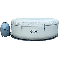Lay-Z-Spa Inflatable Hot Tub Spa with LED Lights