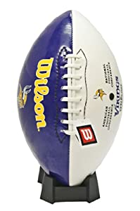 Wilson Minnesota Vikings Autograph Official Size Football by Wilson