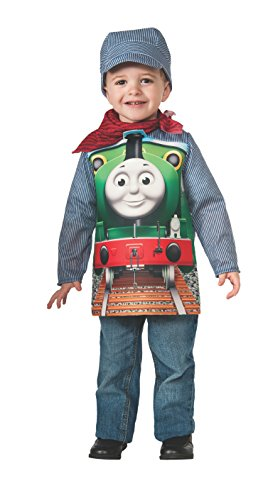 Deluxe Percy The Small Engine and Engineer Costume, Toddler