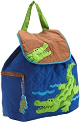 Stephen Joseph Little Boys' Quilted Backpack