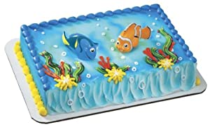 Amazon.com: Finding Nemo Squirters- Nemo & Dory Cake