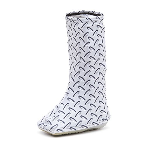CastCoverz! Bootz! Boot Cover in Diamond Plate - Small High Top (Zebra High Tops compare prices)