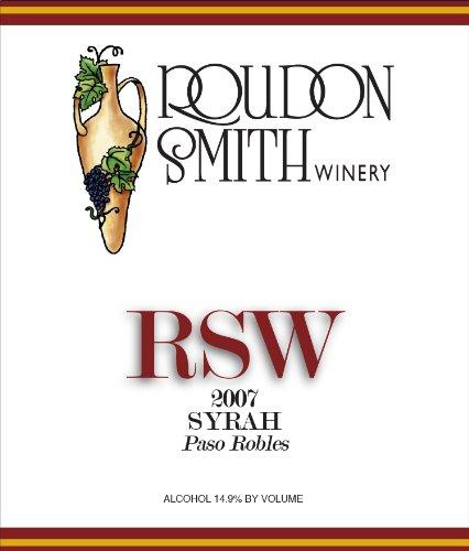 2007 Roudon-Smith Paso Robles Syrah 750 Ml