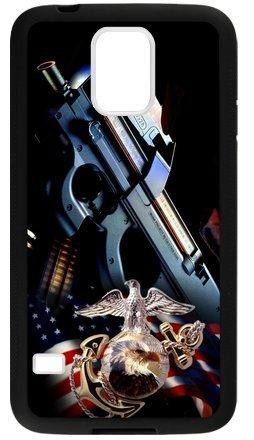 Lilichen Forever Collectible Usmc Marine Corps Case Cover For Samsung Galaxy S5(Laser Technology) -- Desgin By Lilichen